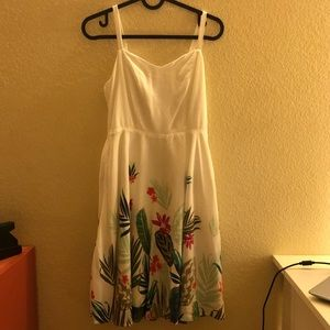 Old Navy Floral Fit and Flare Dress Size XS